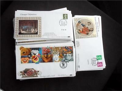 12356aj  GB c1990s BENHAM FIRST DAY COVERS COLLECTION - NICE SELECTION - VIEW ??