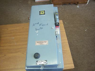 Used Square D SGB-13 Comination motor starter 30 Amp
