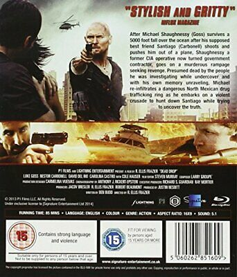 Dead Drop [Blu-ray] -  CD 1QVG The Fast Free Shipping