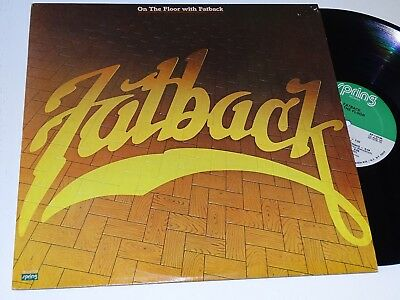 Fatback Orig Usa Funk Lp Nm On The Floor Spring Rec |15