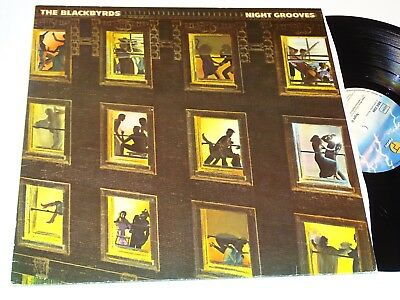 The Blackbyrds Nm Lp Night Grooves Soul Funk |25