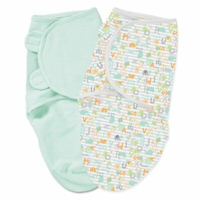 Summer SwaddleMe Original Swaddle 2-Pack (Large) - Alphabets