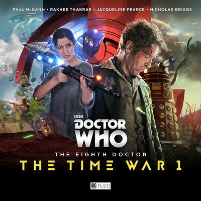 Dr Doctor Who: The Time War 1 (Paul McGann) Daleks Big Finish *NEW*