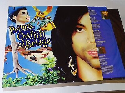 Prince 2 Lp Graffiti Bridge Orig 1990 Vinyl Ois Funk Soul Vg++ Nm |70