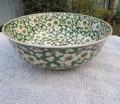Antique Chinese Famille Verte Bowl - Chenghua Mark - Prunus