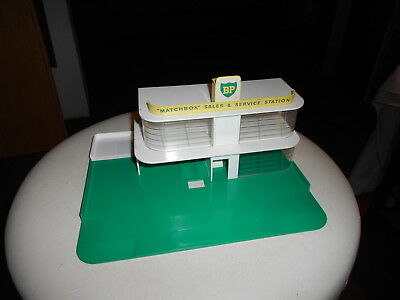 Matchbox MG-1 England vintage mint BP Service Station 100% Decals alles ganz