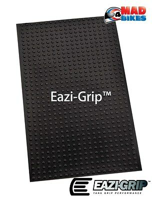 Eazi-Grip EVO Motorcycle Tank Pad Knee Protection Grip Universal Sheets Black x2