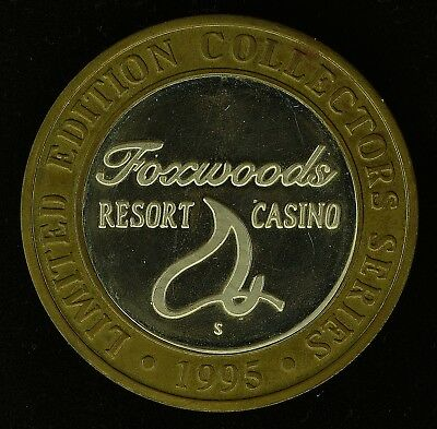 1995 Foxwood's $10 Silver Gaming Strike (ss20.31)