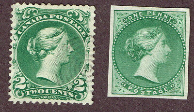Canada Large Queen 24 Essay Proof Fine   (Ovr16