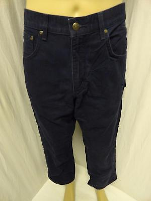 M.lot Of 2 Mixed Carhartt Navy,brown  Multi Pockets Cargo Work Jeans Sz 33X30
