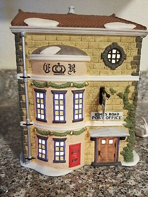 1992 Dept 56 Heritage Village Dickens KINGS ROAD POST OFFICE 5801-7 58017 EXC
