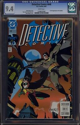 Detective Comics #648 CGC 9.4 NM White Pages 1st Full Appearance Spoiler