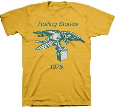 The Rolling Stones 1975 Amp Music Rock Band Adult Mens T Tee Shirt 31271954