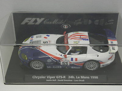 Fly 99009 Slot Car Chrysler Viper GTS_R 24h Le Mans 1998  M.1:32