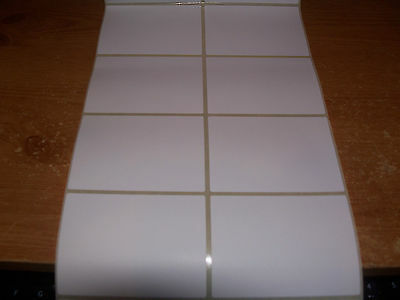 200 Blank Large White Self Adhesive Sticky Labels Postage Address Labels