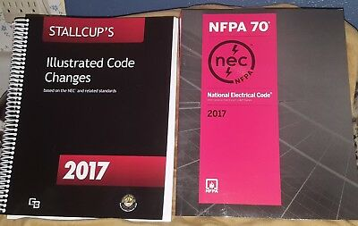 Nfpa Nec 70 National Electrical 2017 Book Stallcup's Illustrated Code Changes