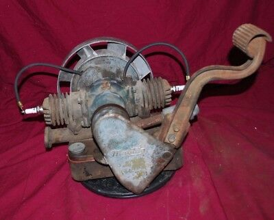 Great Running Maytag Gas Engine Motor Model 72 Twin Wringer Washer #838923