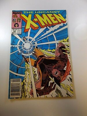Uncanny X-Men #221 1st appearance of Mr. Sinister FN+ condition