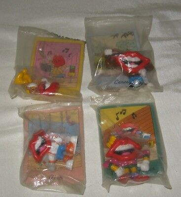 1989 Tang Hot Lips Figures New General Foods