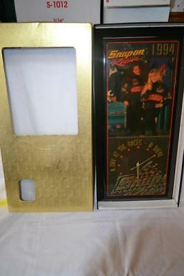 """Vintage Snap-On Racing 1994 """"A Day At The Races - B There"""" Garage Clock"""