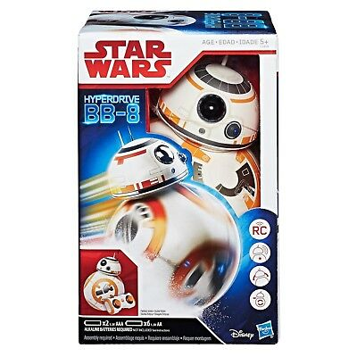 New Hasbro Star Wars The Last Jedi Bb-8 Remote Control Droid C1439 Bb8 Rc