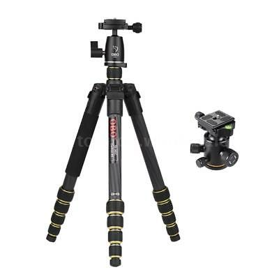 OBO DSLR Camera Tripod Travel Tripod Monopod +Ball Head & Andoer Ball Head R7A8