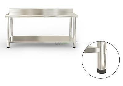 "Stainless Steel Kitchen Work Prep Table Heavy Duty Commercial Table 60"" x 30"""