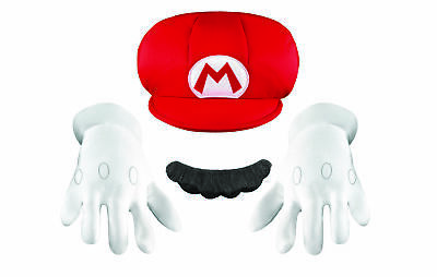 Mario Accessory Kit Child Child Boys Costume Accessories