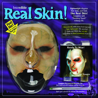 Real Skin M/U Kit Vampire  Costume Accessories