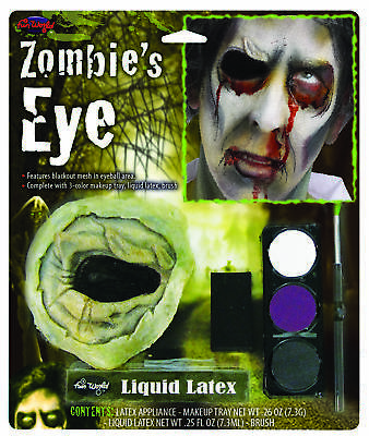 Zombie'S Eye Kit Without Eye  Costume Accessories