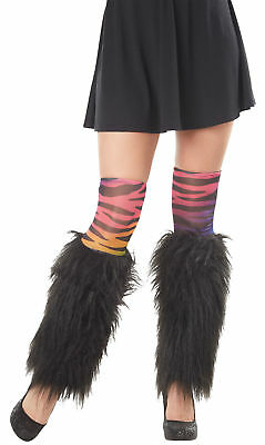 Kit Leg Furries Zebra Rainbow Adult Women Costume Accessories