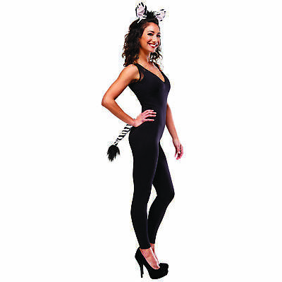 Zebra Kit Adult Unisex Costume Accessories