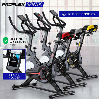 NEW PROFLEX Spin Bike Flywheel Commercial Gym Exercise Home Fitness Workout