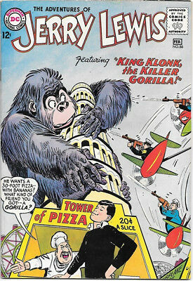 The Adventures of Jerry Lewis Comic Book #86 DC Comics 1965 VERY FINE+