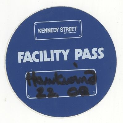 HAWKWIND UK FACILITY Backstage Pass! 2002 Tour??