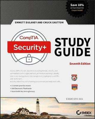 Comptia Security+ Study Guide: Exam SY0-501 by Emmett Dulaney Paperback Book Fre