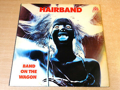 EX/EX- !! Hairband/Band On The Wagon/1969 Bell Stereo LP/Alex Harvey