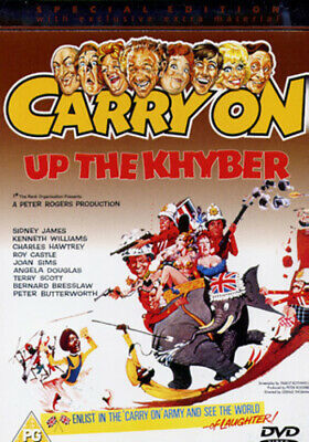 Carry On Up the Khyber DVD (2003) Sid James
