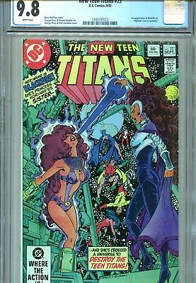 New Teen Titans #23 CGC 9.8 Perez Cover & Art 1st Vigilante not in costume 1982