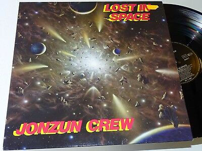 Jonzun Crew Nm Tommy Boy Lp Lost In Space Funk Hip Hop Jellybean |112