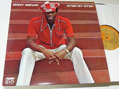 Eddy Senay Rare Sussex Soul Funk Step By Step Re Lp Nm |120