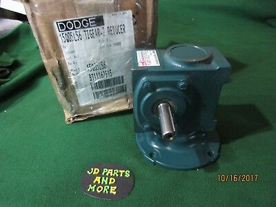 New Dodge Baldor Right Angle Worm Gear Speed Reducer 15Q05L56 Ratio 5:1,1.750 Hp