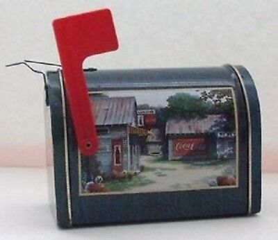 1999 Coca Cola Mailbox Collectors Tin-Coke Collectible-Limited Qty-FREE Shipping