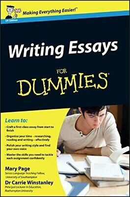 Writing Essays For Dummies by Carrie Winstanley 0470742909 The Fast Free