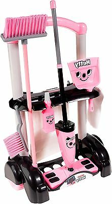 Casdon HETTY CLEANING TROLLEY Pretend Role Play Mop Brush Children's Toy - BN