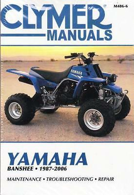 1987-2006 Yamaha Banshee Clymer Repair Service Workshop Shop Manual Book M4866