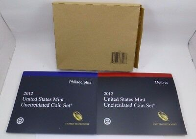 2012 United States Mint Uncirculated Coin Set