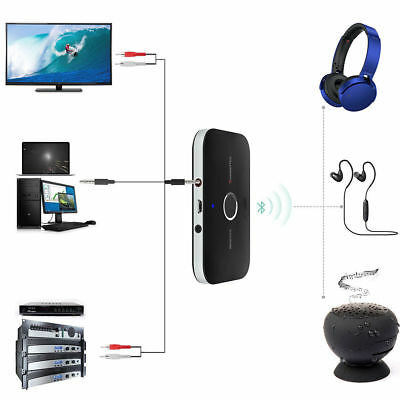 2in1 Wireless Bluetooth Transmitter TV Stereo Audio Empfänger & Sender Adapter