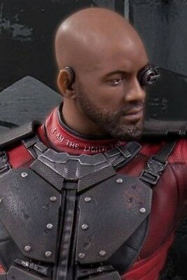 DC Collectibles Suicide Squad Movie Will Smith as Deadshot 12 Inch Statue New