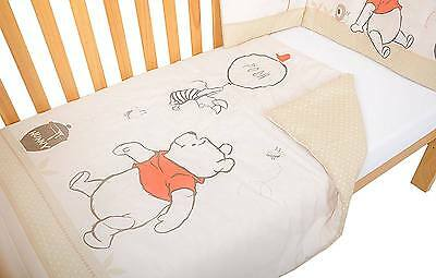 East Coast WINNIE THE POOH TWO PIECE BEDDING SET Baby/Child Quilt Bumper BN